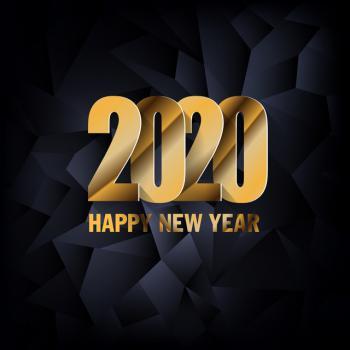 عکس پروفایل تبریک لاکچری سال نو 2020