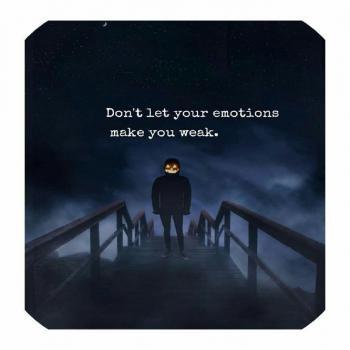 عکس پروفایل انگلیسی اجازه نده احساساتت تو رو ضعیف کنه