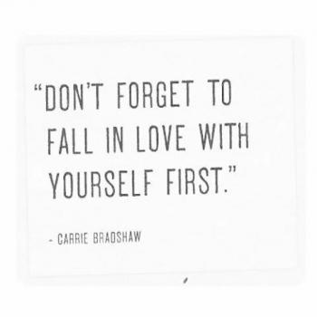 عکس پروفایل انگلیسی فراموش نکنین که اول عاشق خودتون بشید