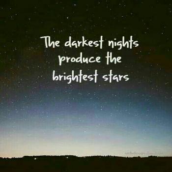 عکس پروفایل تاریکترین شب ها و روشن ترین ستارگان