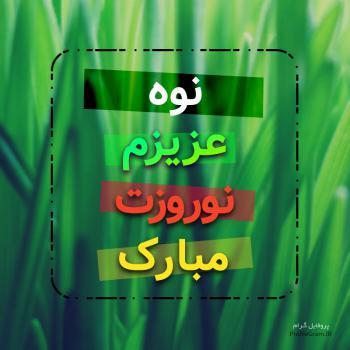عکس پروفایل نوه عزیزم نوروزت مبارک