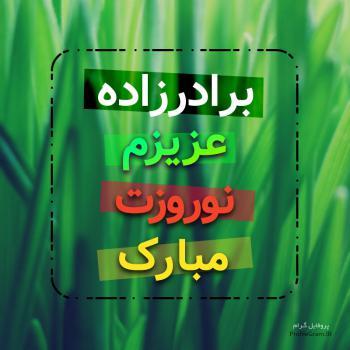 عکس پروفایل برادرزاده عزیزم نوروزت مبارک