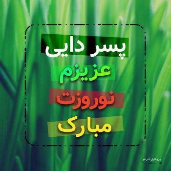عکس پروفایل پسر دایی عزیزم نوروزت مبارک
