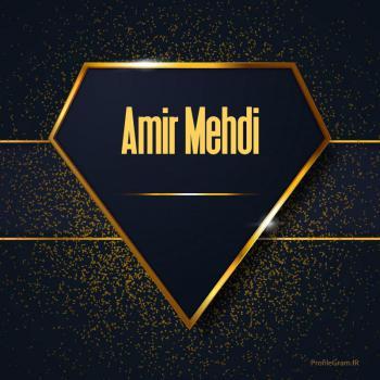 عکس پروفایل اسم انگلیسی امیرمهدی طلایی Amir Mehdi