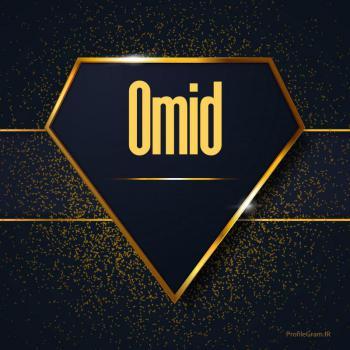 عکس پروفایل اسم انگلیسی امید طلایی Omid