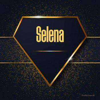 عکس پروفایل اسم انگلیسی سلنا طلایی Selena