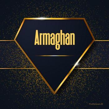 عکس پروفایل اسم انگلیسی ارمغان طلایی Armaghan