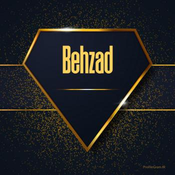 عکس پروفایل اسم انگلیسی بهراد طلایی Behzad