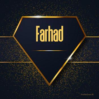 عکس پروفایل اسم انگلیسی فرهاد طلایی Farhad