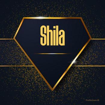عکس پروفایل اسم انگلیسی شیلا طلایی Shila