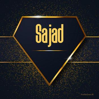 عکس پروفایل اسم انگلیسی سجاد طلایی Sajad