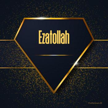 عکس پروفایل اسم انگلیسی عزت الله طلایی Ezatollah