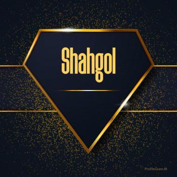 عکس پروفایل اسم انگلیسی شاهگل طلایی Shahgol