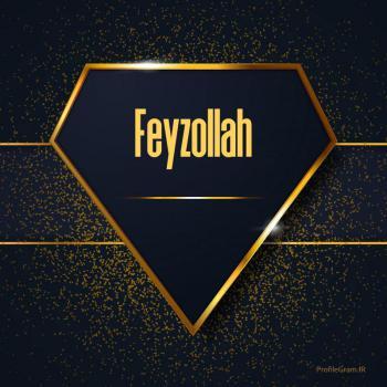عکس پروفایل اسم انگلیسی فیض الله طلایی Feyzollah