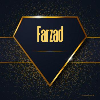 عکس پروفایل اسم انگلیسی فرزاد طلایی Farzad
