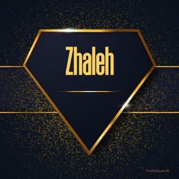عکس پروفایل اسم انگلیسی ژاله طلایی Zhaleh