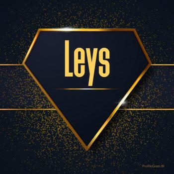عکس پروفایل اسم انگلیسی لیث طلایی Leys