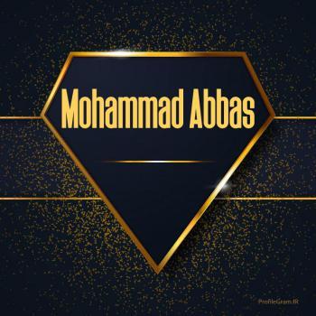 عکس پروفایل اسم انگلیسی محمدعباس طلایی Mohammad Abbas