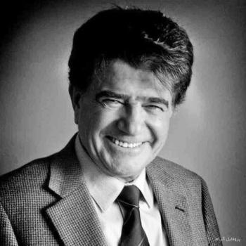عکس پروفایل استاد محمدرضا شجریان سیاه و سفید