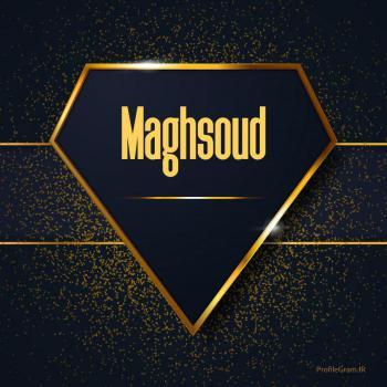 عکس پروفایل اسم انگلیسی مقصود طلایی Maghsoud