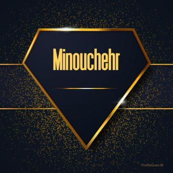 عکس پروفایل اسم انگلیسی مینوچهر طلایی Minouchehr