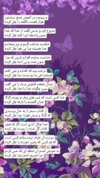 عکس استوری شعر امام رضا علیه سلام در صفحه چت