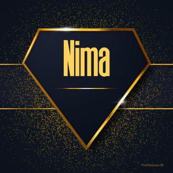 عکس پروفایل اسم انگلیسی نیما طلایی Nima