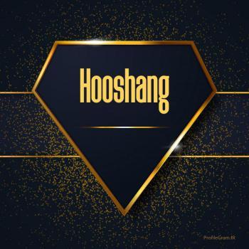 عکس پروفایل اسم انگلیسی هوشنگ طلایی Hooshang