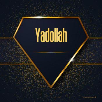 عکس پروفایل اسم انگلیسی یدالله طلایی Yadollah