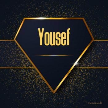 عکس پروفایل اسم انگلیسی یوسف طلایی Yousef