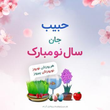 عکس پروفایل حبیب جان سال نو مبارک