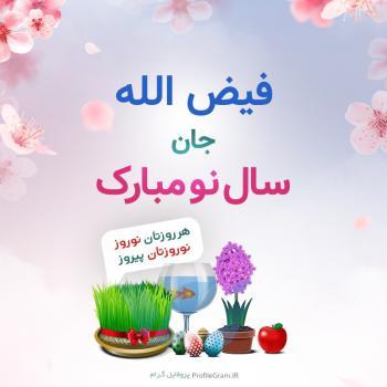 عکس پروفایل فیض الله جان سال نو مبارک