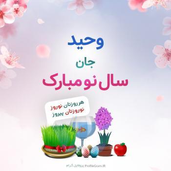 عکس پروفایل وحید جان سال نو مبارک