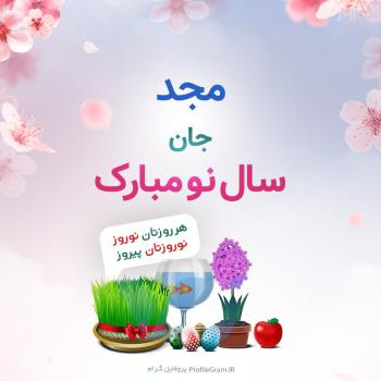 عکس پروفایل مجد جان سال نو مبارک