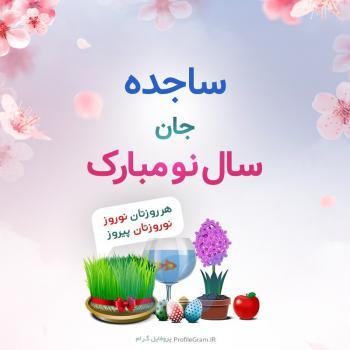 عکس پروفایل ساجده جان سال نو مبارک