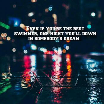 عکس پروفایل یک شب تو رویای یک نفر غرق میشی