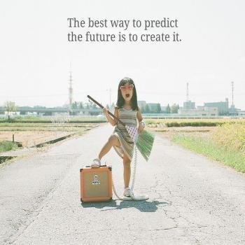 عکس پروفایل برای پیش بینی آینده اینه که خودت