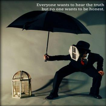 عکس پروفایل انگلیسی همه میخوان حقیقت رو بشنون