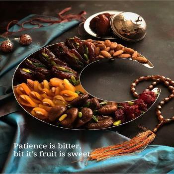عکس پروفایل صبر تلخه ولی میوه اش شیرین و خوشمزه