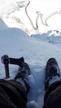 عکس استوری برف پسرانه خفن اینستاگرام 20242