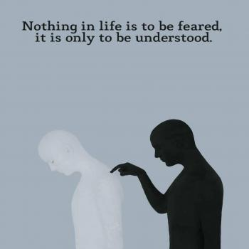 عکس پروفایل انگلیسی هیچ چیز تو زندگی ترس نداره