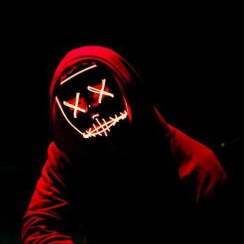 عکس پروفایل نئون پسرانه ترسناک خفن