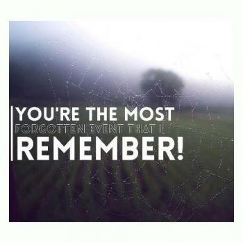 عکس پروفایل تو فراموش شده ترین اتفاقی هست