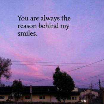 عکس پروفایل انگلیسی تو هميشه دليل لبخنداي مني
