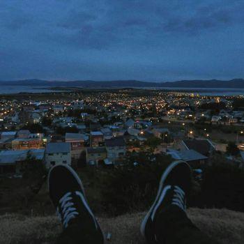 عکس پروفایل نمای شب و خونه های روشن
