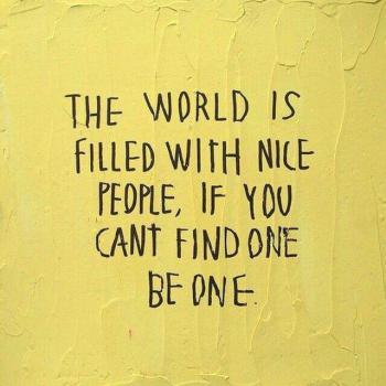 عکس پروفایل انگلیسی دنیا پر از آدمهای خوبه