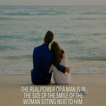 عکس پروفایل انگلیسى یک مرد به اندازه لبخند زنى