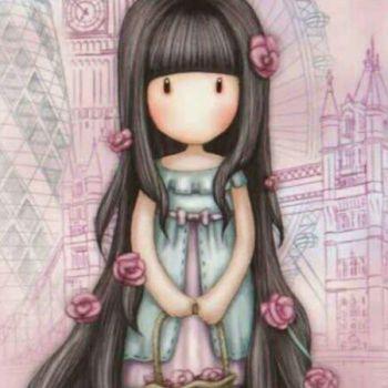 عکس پروفایل عروسک دختر فانتزی صورتی