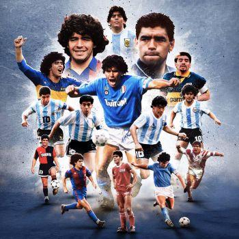 عکس پروفایل دیگو مارادونا اسطوره جهان فوتبال