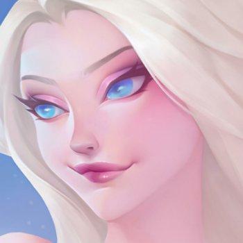 عکس پروفایل صورت السا کارتونی
